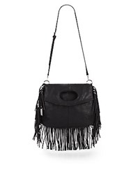 Urban Originals Style Icon Fringe Satchel Black