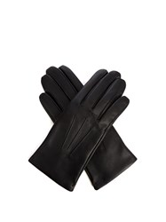 Dents Bath Hairsheep Leather Gloves Black