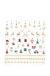 Forever 21 Holiday Nail Stickers Gold