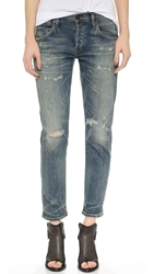 Citizens Of Humanity Emerson Slim Fit Boyfriend Ankle Jeans Rip It Up