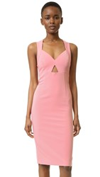 Alice Olivia Hera Racer Back Dress Dusty Rose