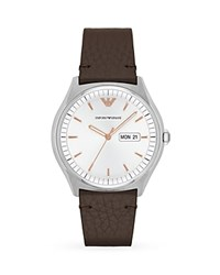 Emporio Armani Zeta Watch 43Mm White