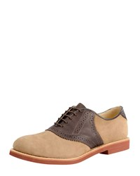 Walk Over Nubuck Saddle Shoe Tan