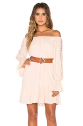 Vava By Joy Han Dacia Off Shoulder Dress Peach