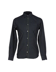 Department 5 Shirts Dark Blue