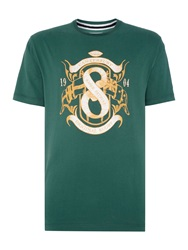 Canterbury Of New Zealand Flag Tee Green