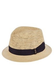 Borsalino Panama Straw Hat Cream