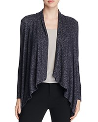 B Collection By Bobeau Curvy Brushed Cascade Cardigan Charcoal Grey