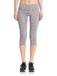 Alo Yoga Space Dye Capri Leggings White Space Dye