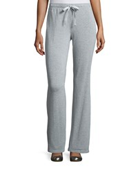 Natori Knit Lounge Pants W Drawstring Heather Gray