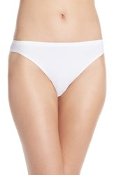 Women's Nordstrom Lingerie Seamless High Cut Briefs White