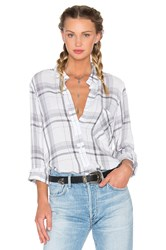 Bella Dahl Shirt Tail Button Down Gray
