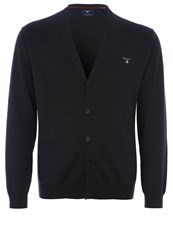 Gant Cardigan Navy Dark Blue