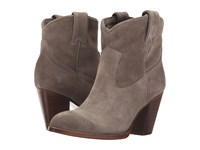 Frye Ilana Short Boot Dark Grey Oiled Suede Women's Pull On Boots Gray