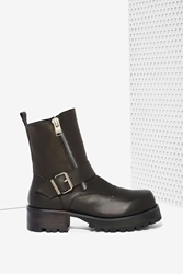 Nasty Gal Unif Cease Leather Boot
