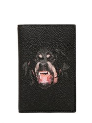 Givenchy Rottweiler Faux Leather Card Holder
