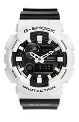 Baby G Shock 'Glide' Ana Digi Watch 55Mm