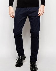 French Connection Stretch Skinny Chinos Navy