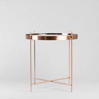 Copper Plated Side Table R E S T O R E D