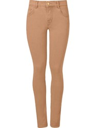 Amapo Skinny Trousers Brown