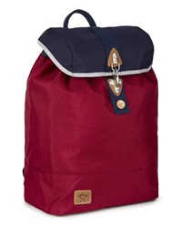 Faguo Red And Blue Nylon Hook Backpack
