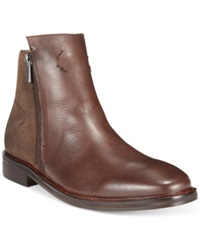 Guess Jarret Side Zip Boots Men's Shoes