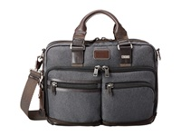 Tumi Alpha Bravo Andersen Slim Commuter Brief Anthracite Briefcase Bags Pewter