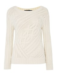 Polo Ralph Lauren Long Sleeve Crew Neck Jumper Cream