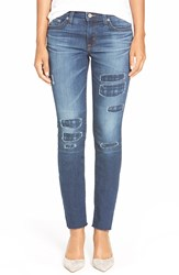 Big Star 'Alex' Distressed Stretch Ankle Skinny Jeans Quinton