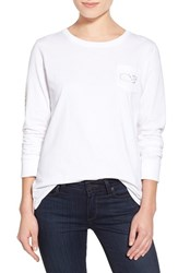 Women's Vineyard Vines 'Vintage Foil Whale' Long Sleeve Tee