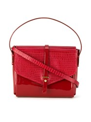 Sarah Chofakian Leather Crossbody Bag Red