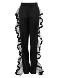 Preen Outline Trousers Black