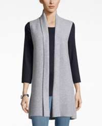 Charter Club Cashmere Sweater Vest Only At Macy's Heather Crystal