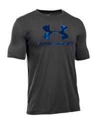 Under Armour Ua Sportstyle Takeover Graphic Front T Shirt Grey