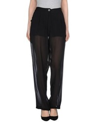 Isabel Benenato Casual Pants Black
