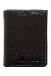 Robert Graham Tomlin Leather Trifold Wallet Black