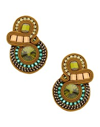 Dori Csengeri Jewellery Earrings Women Beige