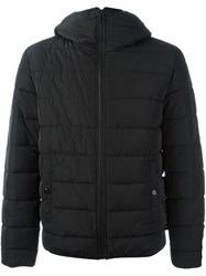 Love Moschino Hooded Puffer Jacket Black