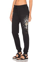 Spiritual Gangster Mystical Moon Sweatpant Black