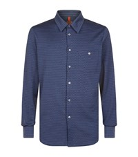 Missoni Zigzag Jersey Shirt Male Blue