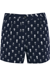 Chinti And Parker Printed Cotton Poplin Shorts