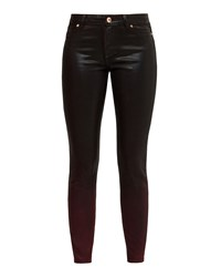 Ted Baker Ombray Ombre Wash Jeans Red