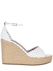 Tabitha Simmons 130Mm Harp Perforated Leather Sandals