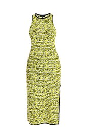 Rag And Bone Viola Knitted Dress Yellow