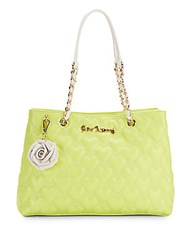 Betsey Johnson Bee Mine Tote Bag Citron
