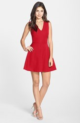 Women's Felicity And Coco Back Cutout Fit And Flare Dress Red