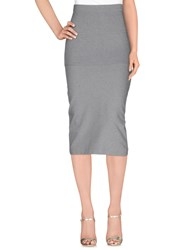 Gunex Skirts 3 4 Length Skirts Women Light Grey