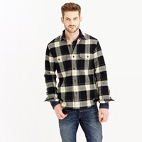 J.Crew Wallace And Barnes Guide Shirt Jacket In English Wool
