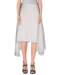 Christian Dior Dior Skirts Knee Length Skirts Women Ivory