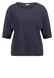 Filippa K Summer Basic Tshirt Navy Dark Blue